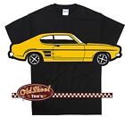 Classic Mk1 Ford Capri T Shirt Very Retro, Makes a great gift Tee S-5XL Size