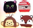 Infant Halloween Zoo Animal Knit Cap Winter Baby Cotton Blend Hat 6-12 Months