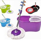 Microfiber Spining Magic Spin Mop With Bucket 2 Heads Rotating 360° Floor Mop