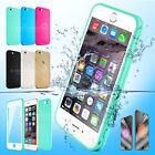 Waterproof Shockproof Rubber TPU Dust Proof Case Cover Fr Apple iPhone 5 6S Plus