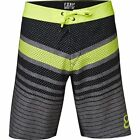 NEW FOX RACING MENS ADULT FL YELLOW DOUBLE DOWN BOARDSHORTS SWIM BOARD SHORTS