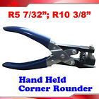 """Manual 2 Kinds R5:7/32"""" R10:3/8"""" Hand Held Card Corner Rounder Cutter Pouch"""