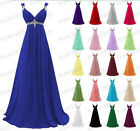Long New Formal Evening Ball Gown Party Prom Bridesmaid Dress Stock Size 6-22