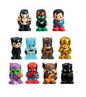 Ooshies Pencil Toppers 7 pack - Marvel or DC Comics NEW 2016