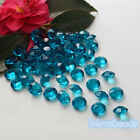 10mm 4CT Teal Blue Acrylic Diamond Confetti Wedding Party Decor Table Scatters