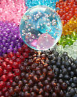 50 x Frosted Glass Beads ~ 8mm Round Beads ~ Jewellery Making Crafts