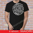 T SHIRT FASHION MODA MAORI TRIBALI TATTOO INK TATUAGGI SOLE LUNA  NEW ZELAND