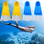 Silicone Swimming Snorkeling Training Short Fins Swim Flippers Youth Adult NEW