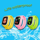 """1.44"""" Bluetooth Children Wrist Smart Watch Touch Screen GPS For Android iOS"""