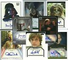 Topps Authentic: Star Wars - TRADING CARD AUTOGRAPHS - (1995-2013) PICK-LIST $39.71 CAD