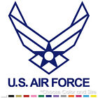 US AIR FORCE USAF EMBLEM ARMY WINGS MILITARY VINYL DECAL STICKER (USAF-09)