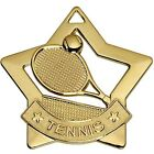 AM727 MINI STAR TENNIS METAL MEDAL & FREE RIBBON