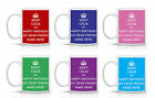KEEP CALM AND HAPPY BIRTHDAY MY DEAR FRIEND - PERSONALISED MUG