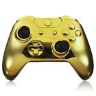 Wireless Controller Full Shell Case Housing for Xbox One Matte Gold/White USA