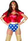 Forplay 551307 adult wonder woman caped costume