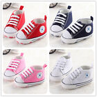 Casual  Fashion Baby Canvas Shoes Soft Sneaker Infant Toddler Prewalker