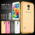 Luxury Metal Aluminum Bumper Frame Color Case Cover for Samsung Galaxy Galaxy S5