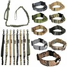 SET of Tactical Dog COLLAR + LEASH Handle K9 Molle Military Training Large M-XXL