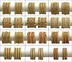 Indian Bollywood Gold Plated Bridal Wear Polki Bangles Bracelets Jewelry