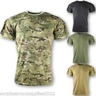 MILITARY MENS TACTICAL T-SHIRT S-2XL 220 GRAM COTTON MTP BTP CAMO ARMY SECURITY