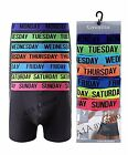 7 Days Men's Boxer Shorts Designer Weekdays Fashion Band Cotton,Underwear