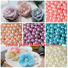Wholesale 2mm-14mm No Hole Abs Pearl Round Acrylic Beads Diy 16 Color Pick