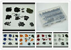 Steel Fairing Bolts Kit Fastener Clips Screw For Yamaha 2008-15 YZF R25 R3 R125