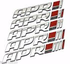 APR Decal Car Styling sticker STAGE 1 2 3 abs Racing badge FOR REAL TUNERS GOAPR $10.99 USD