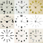 3D DIY OROLOGIO DA PARETE MURO MODERNO DECORAZIONE CASA WALL CLOCK STICKER