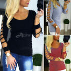 Sexy Women Ladies Vest Top Shirt Blouse Summer Casual Loose Tops UK Size S-XL