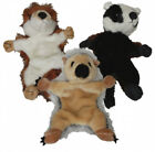 """Dog Toy -  FLATLINERS. Squeaker. Only Light Stuffing Head & Limbs. 11"""" / 31 cm."""