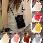 New PU Leather Cross-body Mobile Phone Shoulder Bag Pouch Case For iPhone 6 5