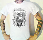Victorian Jolly God Engraving T-Shirt Macabre Nightmare Weird Scary