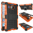 Heavy Duty Rugged Rubber Protective Stand Case Hard Cover For Nokia Lumia 950XL