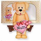 SHELF116 - Mums Pet - On The Shelf Card - Birthday, Mothers Day, Thank You