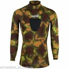 Adventure At Nature Long Sleeve Camo Spearfishing Rash Guard Speargun Scuba Pad