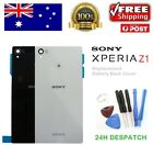 Sony Xperia Z1 L39H C6903 Back Rear Glass Housing Battery Cover Case + Tools