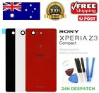 Sony Xperia Z3 Compact Mini D5803 D5833 Back Rear Glass Battery Cover Case Tools