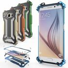 R-Just Full Metal Aluminum Bumper Back Cover Case for Samsung Galaxy S7/S7 Edge