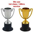 Mini Children Silver / Gold Winners Trophy Kids Party Game Toys Prizes Awards in