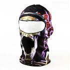 Black with White Skull Cycling Masks Balaclava Face Mask BB17 DM