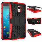 Heavy Duty Tough Shockproof Stand Hard Armor Case Cover For Motorola Moto Series
