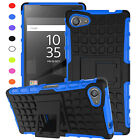 New Heavy Tough Shockproof Stand Armor Case Cover For Sony Xperia Z5 Z4 Z3 M5 M4