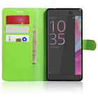 Magnetic Leather Folio Wallet Card Holder Case Cover Fr Sony Xperia Series Model