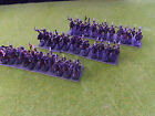 1/72 Painted Napoleonic Russian Hussars in greatcoats