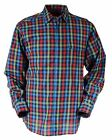 Bar Harbour Premium Cotton Checked Leisure Shirt (9970) in Size Medium to 5XL