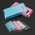 Soft Silicone TPU Gel Back Case Cover + Screen Protector Film For Asus Zenfone 4