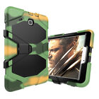 """Heavy Duty Shockproof Rubber Armor Case Stand Cover For Samsung Tab E 9.6"""" T560"""