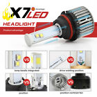 2Pcs Waterproof LED Light Car LED Headlight Installation Simple With Cooling Fan