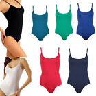 SEXY LADIES STRAP SLEEVELESS BODYSUIT SHAPEWEAR LEOTARD 10COLORS